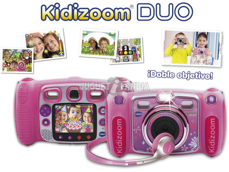 acheter kidizoom duo rose bizak 170857 juguetilandia. Black Bedroom Furniture Sets. Home Design Ideas