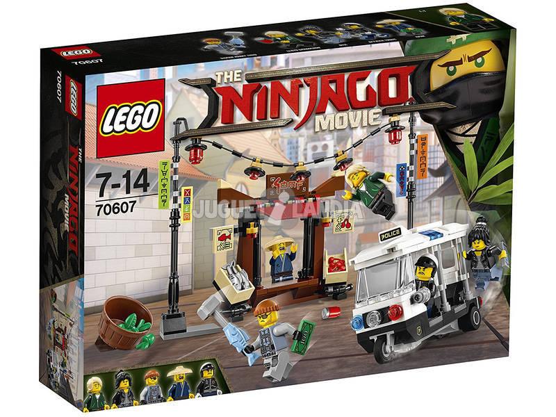 Lego Ninjago Perseguição Na Cidade 70607