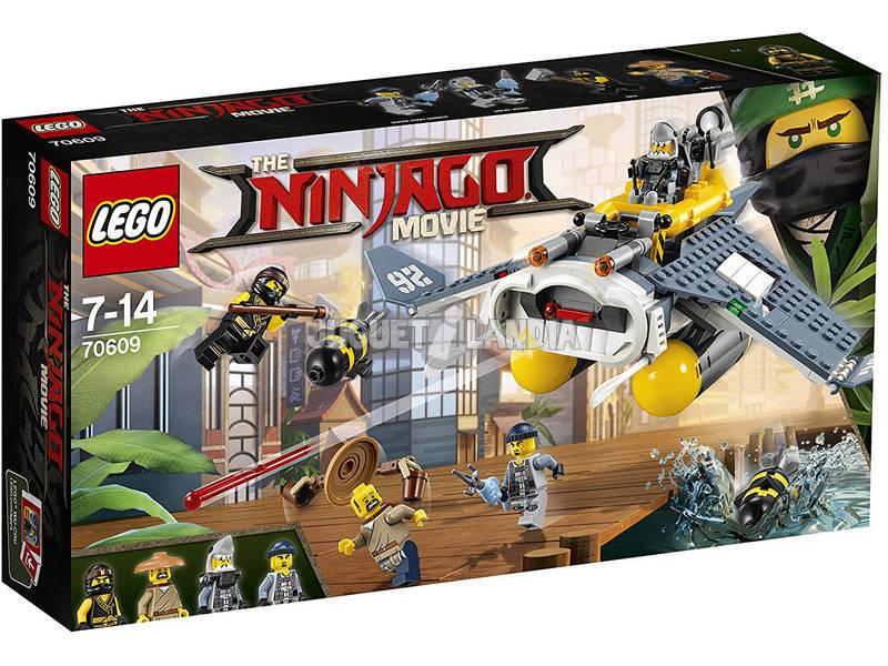 Lego Ninjago Bombardeiro Mantarraya 70609