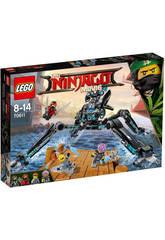 Lego Ninjago Guerrero Acuático