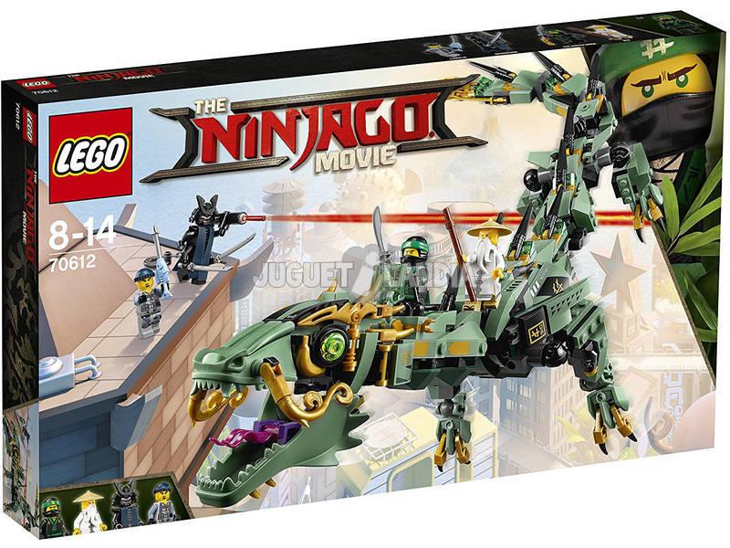Lego Ninjago Green Ninja Dragão Mecânico 70612