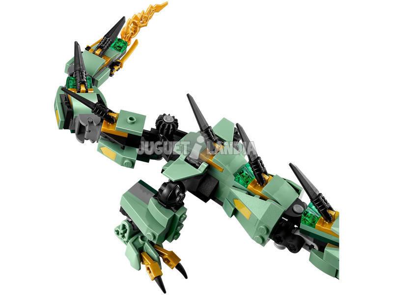 Acheter lego ninjago dragon m canique du ninja vert juguetilandia - Ninja vert lego ...