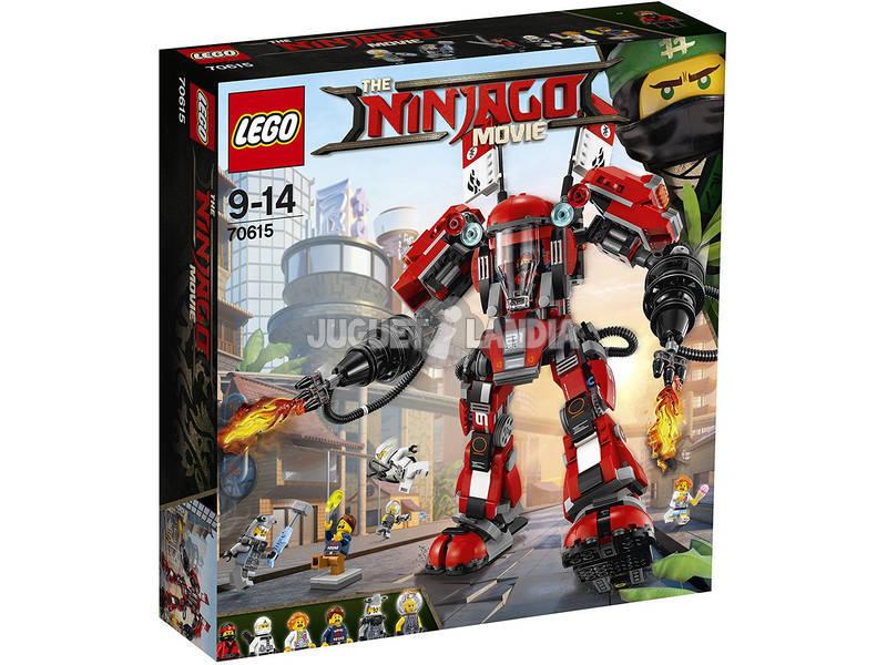 Robô de fogo Lego Ninjago 70615