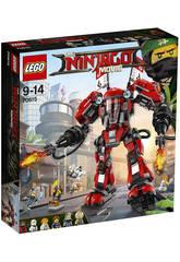 Lego Ninjago Mech di Fuoco