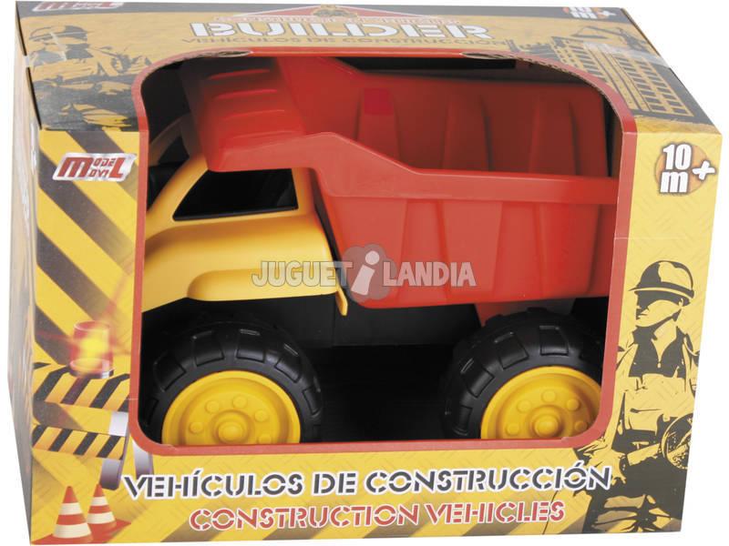 Veículo De Construção Camião Basculante 30 cm.