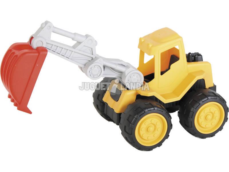 Veículo De Construção Escavadora 30 cm.
