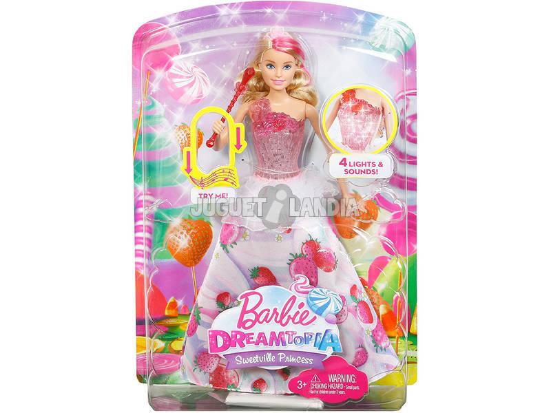 Barbie Princesa Raios Doces Mattel DYX28
