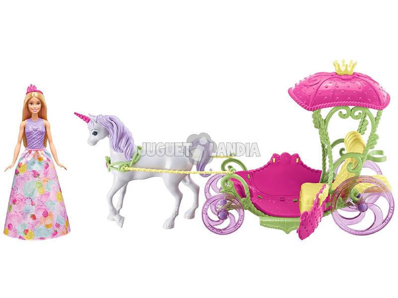 Barbie Carroza Reino De Chuches Mattel DYX31