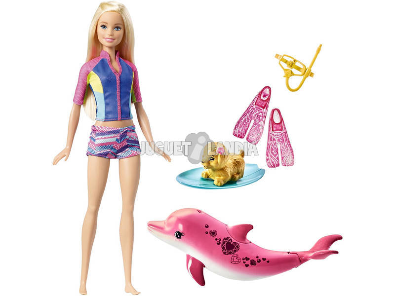 Barbie y Mascotas Mágicas Mattel FBD63