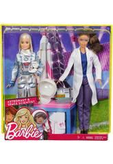 Barbie ich möchte eine Astronautin und Wissenschaftlerin sein Mattel FCP65