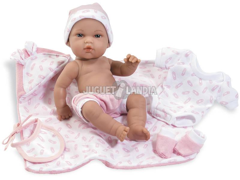 Boneca Elegance 33 cm. Natal Trousseau Rosa