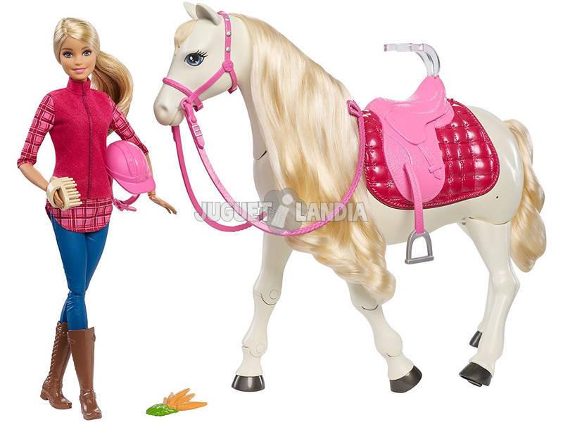 Barbie e o Seu Cavalo Fantástico Branco - Dreemhorse da Mattel FRV36