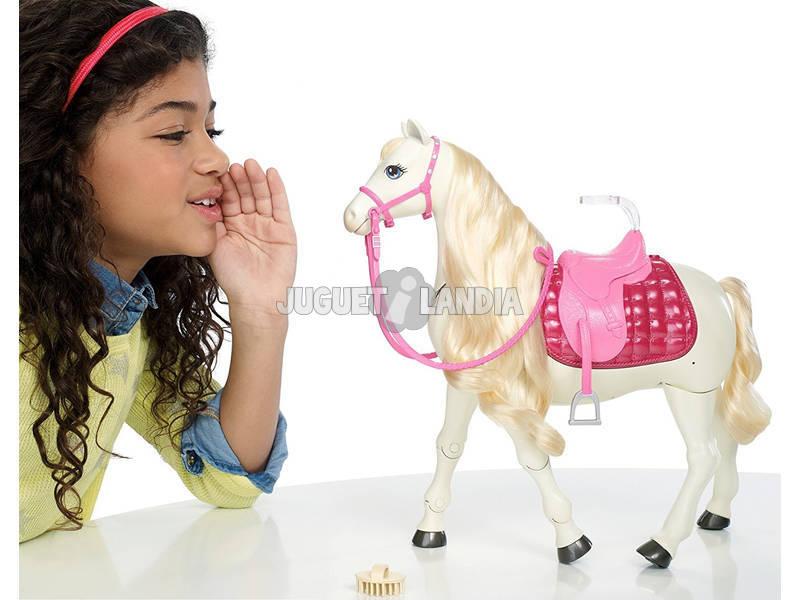 acheter barbie et son cheval super interactif mattel frv36 juguetilandia. Black Bedroom Furniture Sets. Home Design Ideas