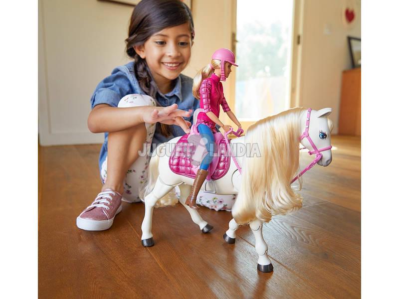 acheter barbie et son cheval super interactif mattel frv36. Black Bedroom Furniture Sets. Home Design Ideas