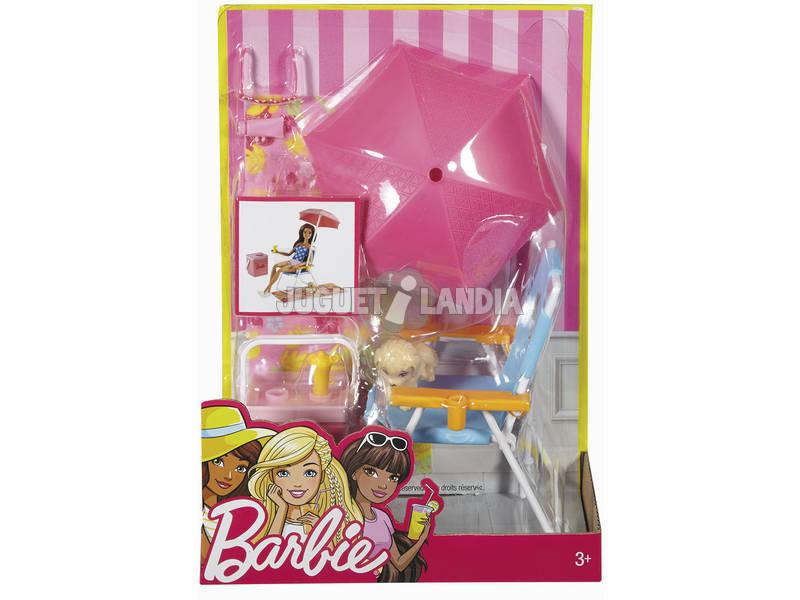 Barbie Mobiliário e Acessórios ao Ar Livre Mattel DXB69