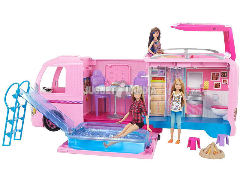 Barbie Supercaravan Mattel FBR34