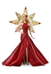 Barbie Joyeuses Fêtes Blonde Mattel DYX39