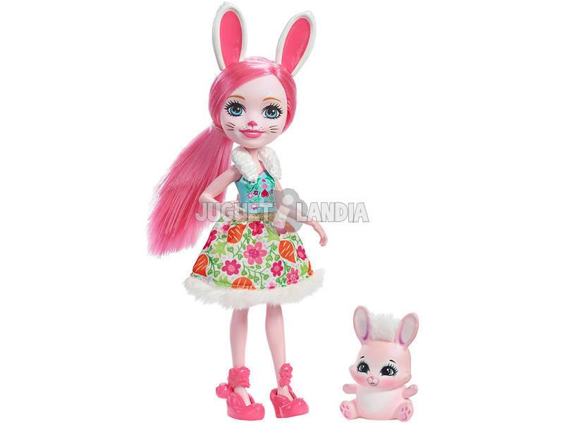 Enchantimals Boneca e Pet Rabbit Mattel DVH88