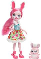 Enchantimals Muñeca y Mascota Conejo Mattel DVH88