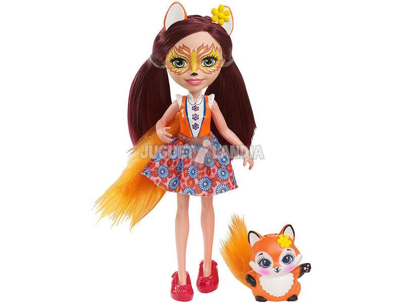 Enchantimals Muñeca y Mascota Zorro Mattel DVH89