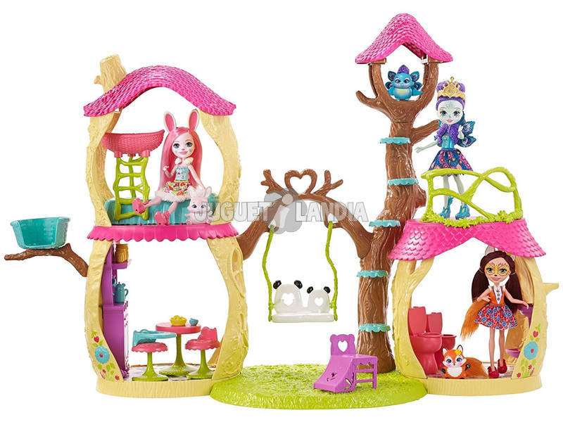 Enchantimals Casa Divertida Panda 60cm Mattel FNM92