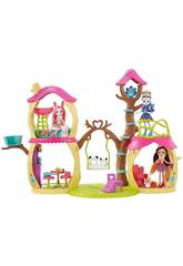 Enchantimals Playset Casa sull'albero Mattel FNM92