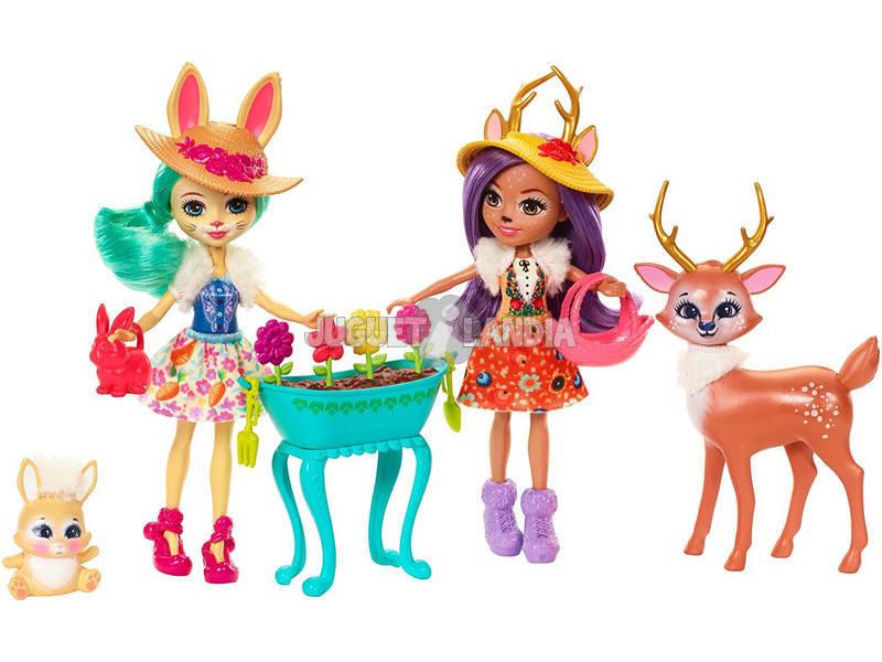 Conjunto de Jardim Mágico Enchantimals Mattel FDG01