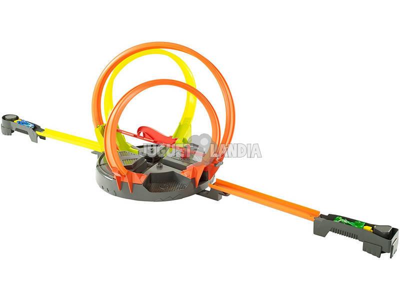 Trilha Hot Rodas Roto Revolução Mega Looping Infernal Mattel FDF26