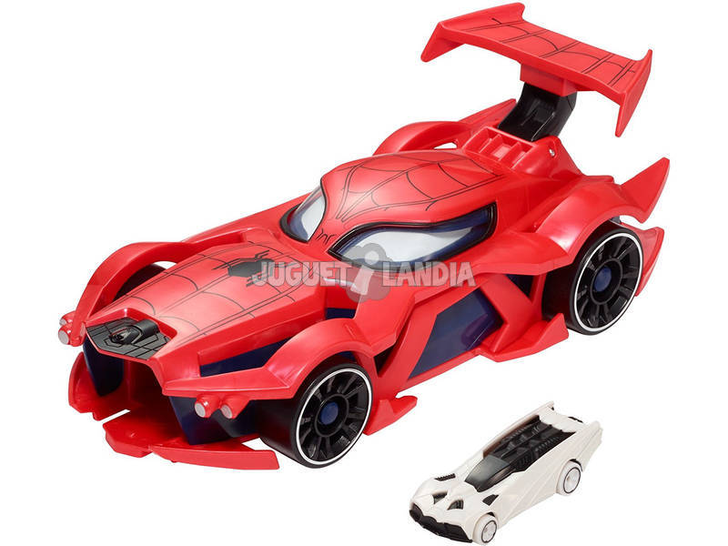 Hot Wheels Carro Lançador De Spiderman Mattel FGL45