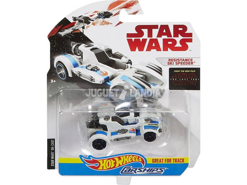 Star Wars E8 Carro Espacial Hot Wheels. Mattel FBB72