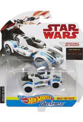 Star Wars E8 Coche Espacial Hot Wheels. Mattel FBB72