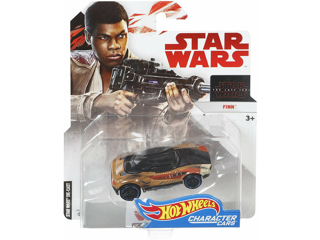 Star Wars E8 Carros personagens Hot Wheels