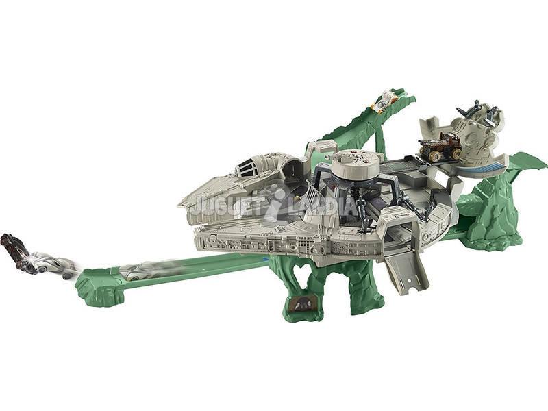 Star Wars E8 Falcão Milenar Hot Wheels