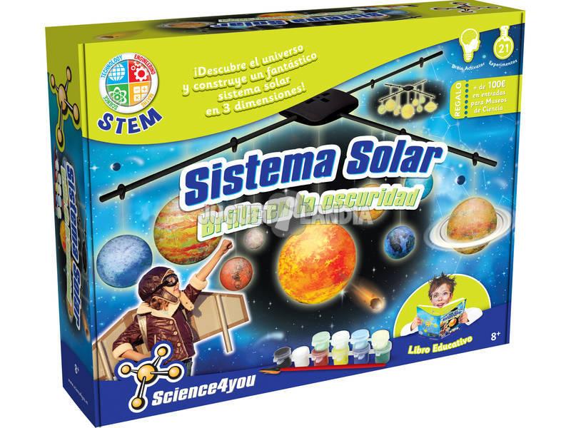Ciência do Sistema Solar 3D do Universo