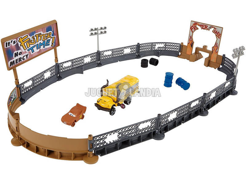 Cars 3 Pista Choques Loucos Mattel DXY95