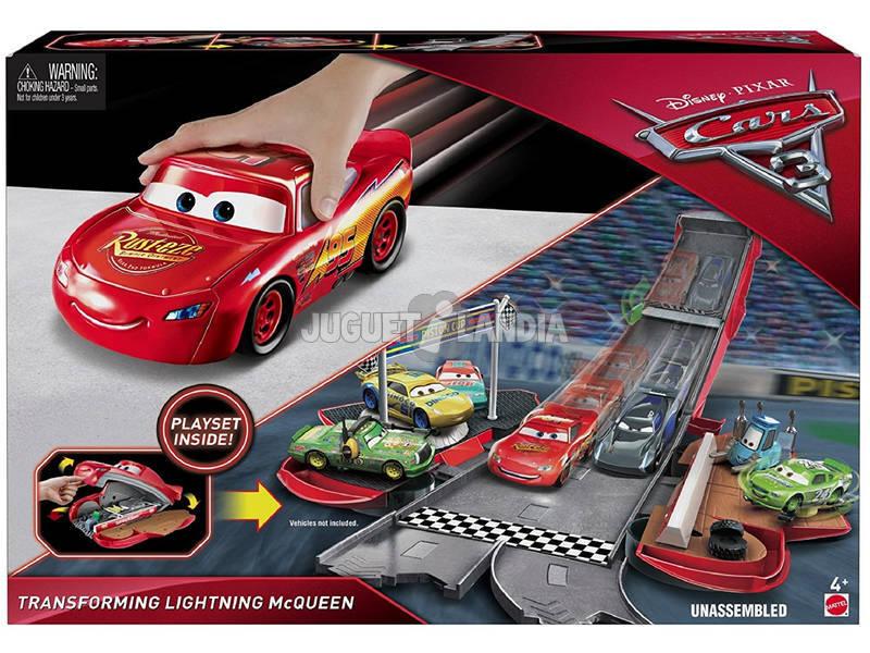 Cars 3 Super Transformação Mattel FCW03