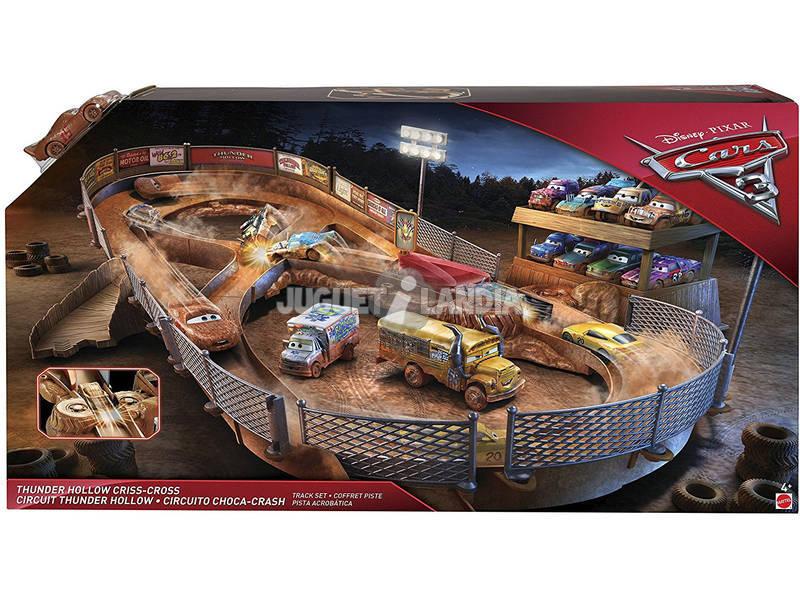 Cars FCW01 Pista Thunder Hollow Mega Incrocio Disney