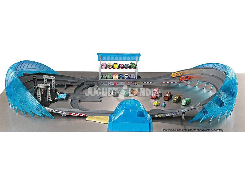 cars 3 mega circuito de florida mattel fcw02 juguetilandia. Black Bedroom Furniture Sets. Home Design Ideas
