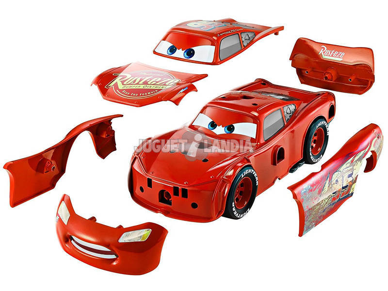 acheter cars 3 flash mcqueen garage de tuning mattel fcv95 juguetilandia. Black Bedroom Furniture Sets. Home Design Ideas