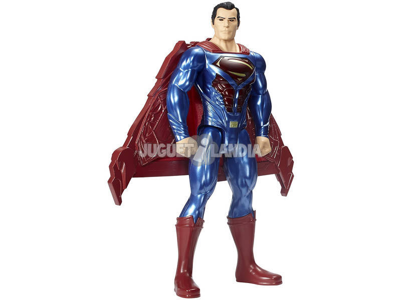 Figura Superman 30 cm. Luzes e Sons