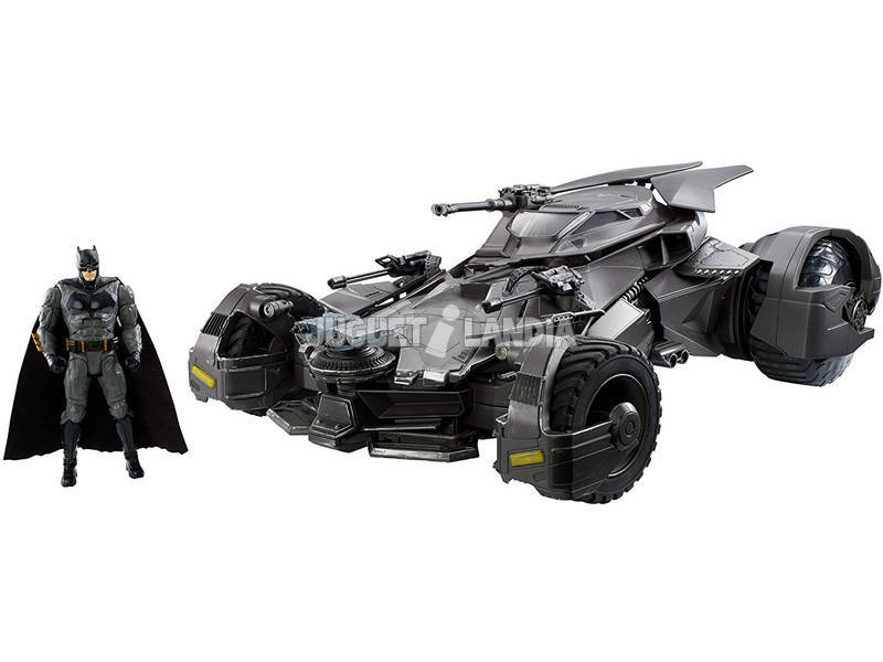 Rádio Controlo 1:10 Batmóvil Liga da Justiça Mattel FRL54