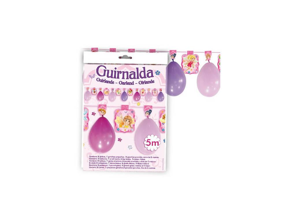 Articulos De Fiesta Guirnalda Hadas Globolandia