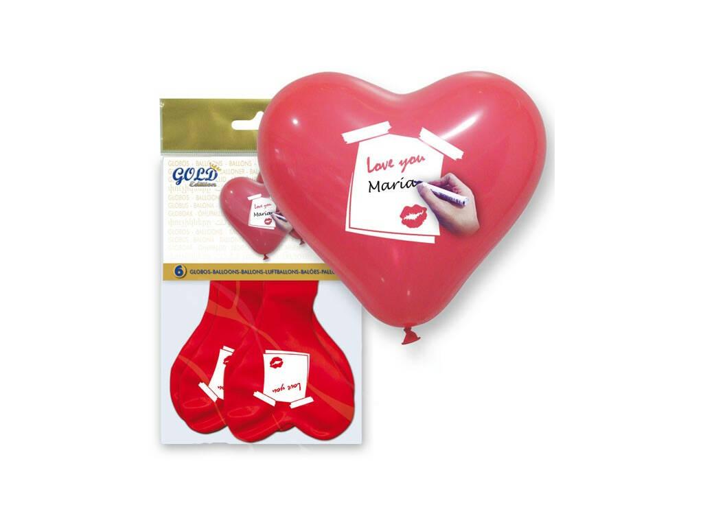 Globos Hinchables Corazón Nombre Globolandia 5709