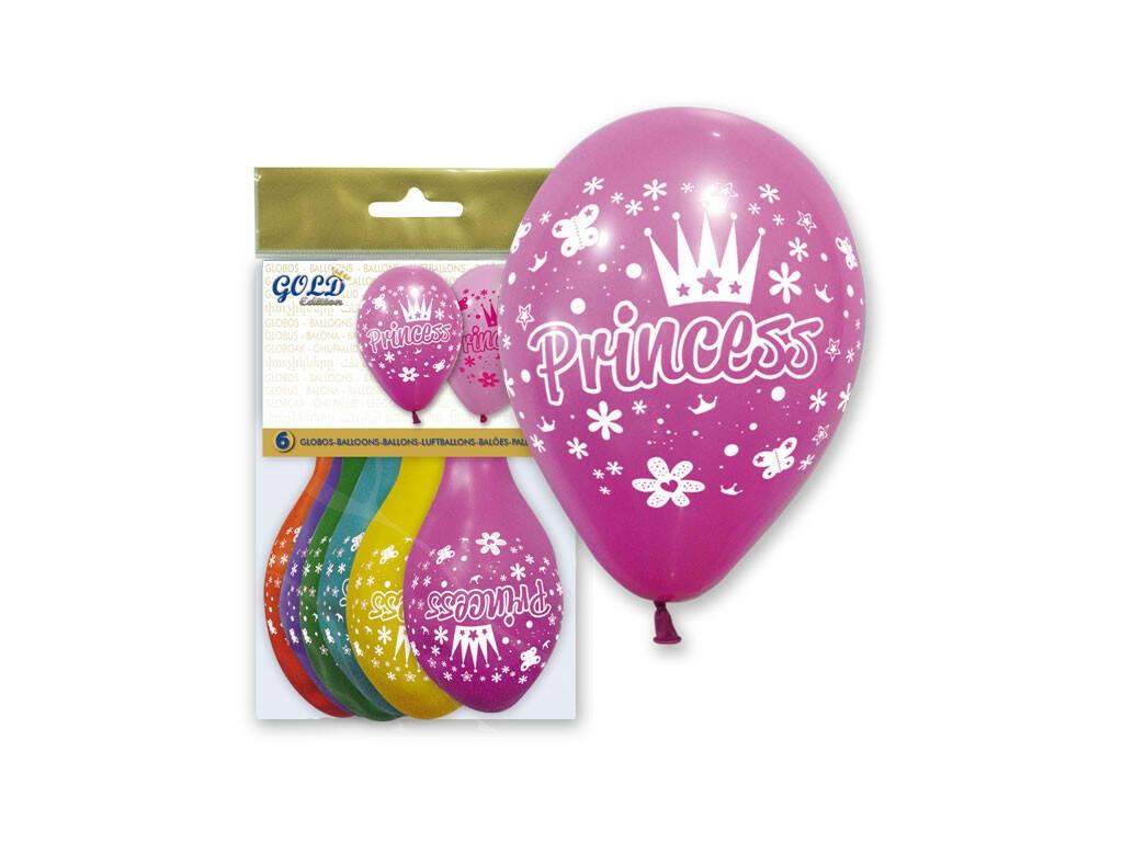 Balões Insufláveis Globo Gold Princess Globolandia
