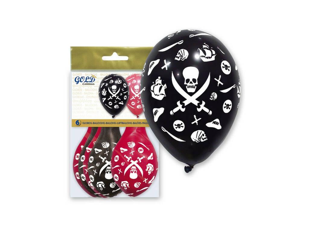 Balões Insufláveis Gold Piratas Globolandia