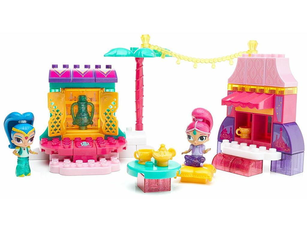Mega Bloks Mercado De Shimmer And Shine Mattel DXH15