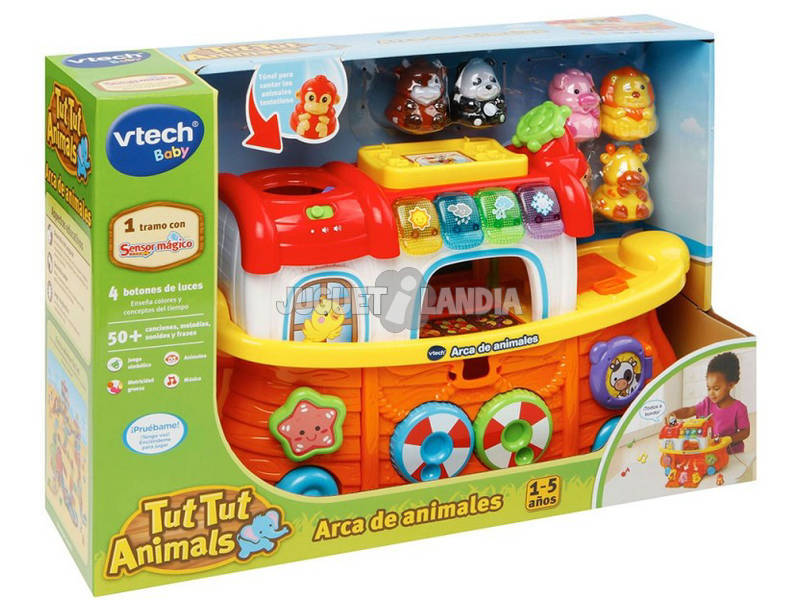 acheter tut tut animo super bateau des animaux vtech 504522 juguetilandia. Black Bedroom Furniture Sets. Home Design Ideas