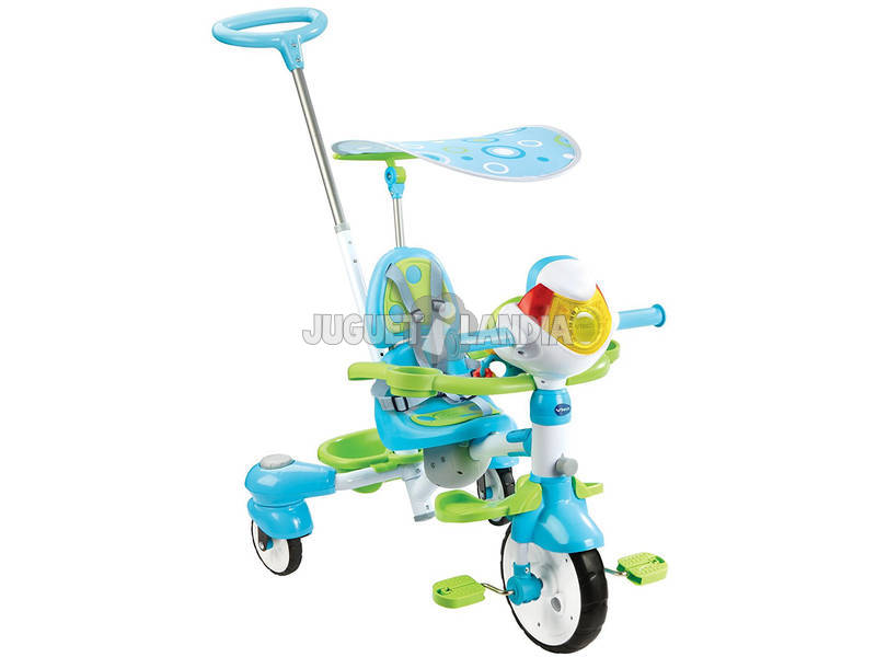 Triciclo Inteligente Evolutivo 5 Em 1 Azul Vtech 196822
