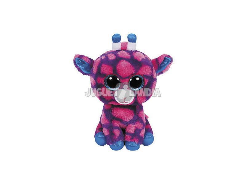 Girafa de pelúcia rosa 15 Cm Ty