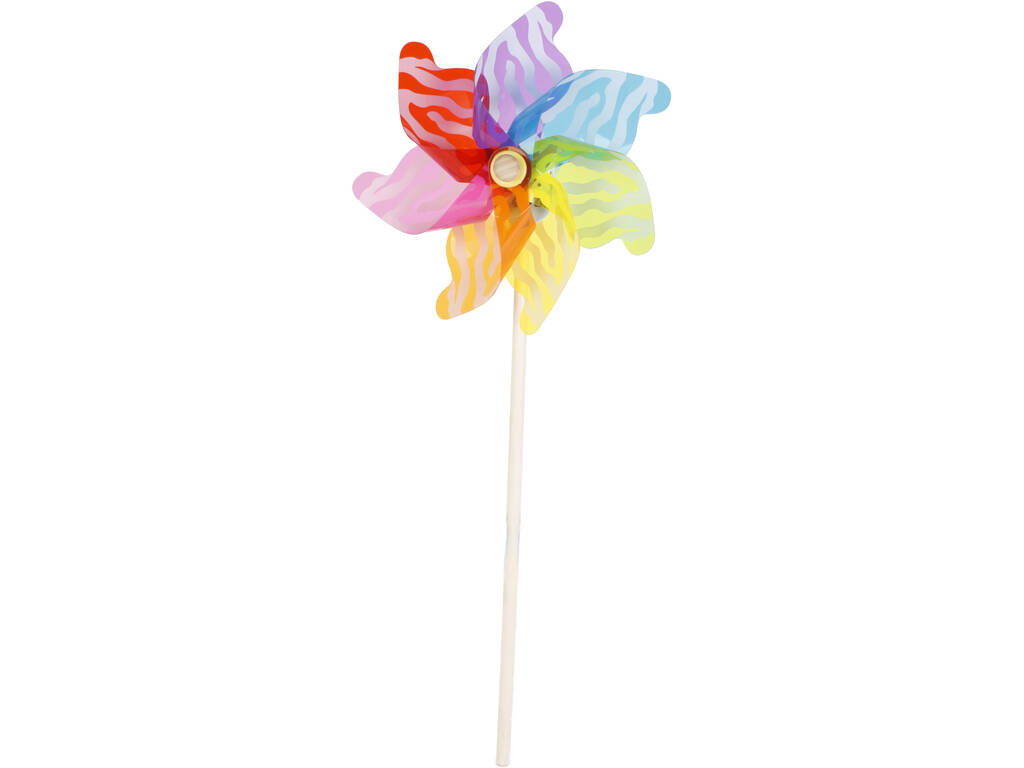 Molinillo de viento 32X74 cm. Multicolor